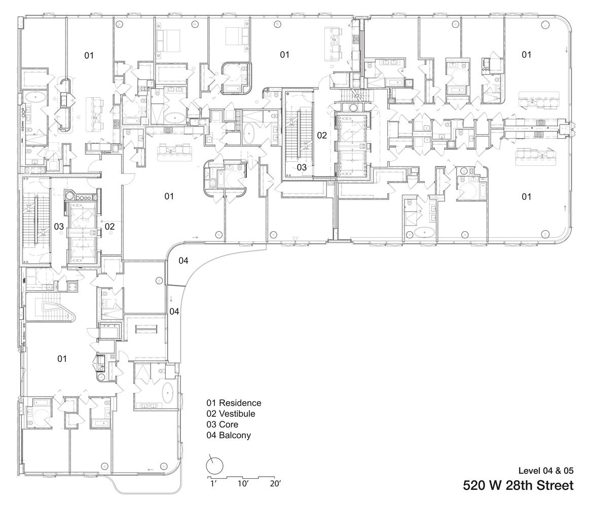 Gallery Of 520 West 28th / Zaha Hadid Architects