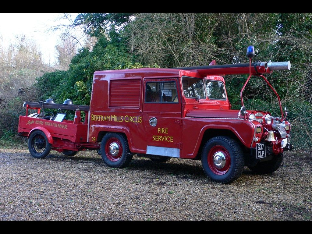 1961 AUSTIN GIPSY Fire Engine and Trailer for sale | Classic Cars ...