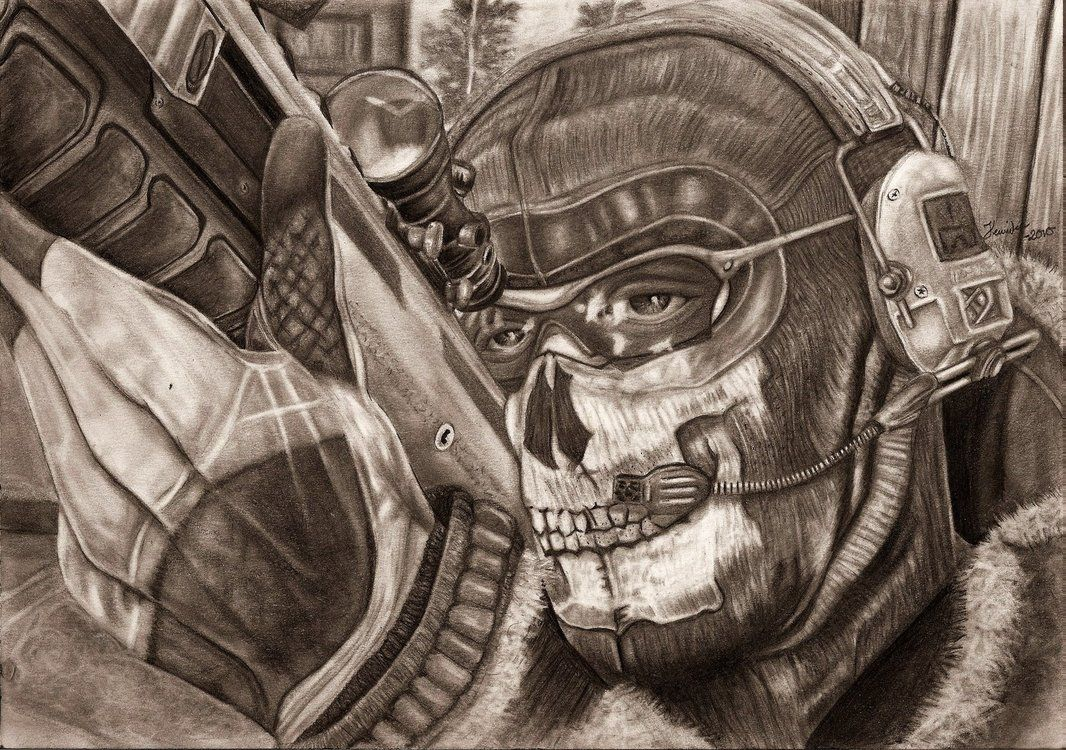 MW2 Ghost WIP Finished by Yankeestyle94 | The heroes of Call of ...
