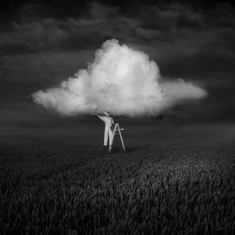 "Saatchi Online Artist: Patrick Gonzales; Digital, 2011, Photography ""untilted"" #art"