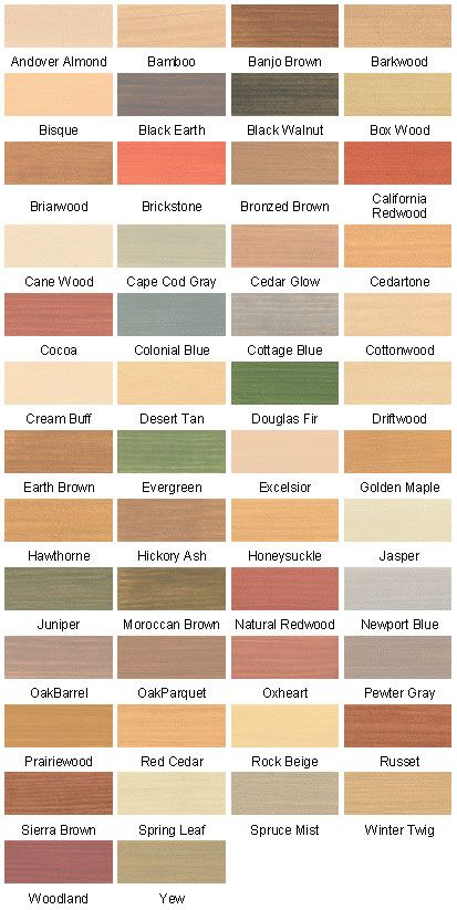 Deck Wood Stain Colors Thompsons Waterseal Deck Amp House