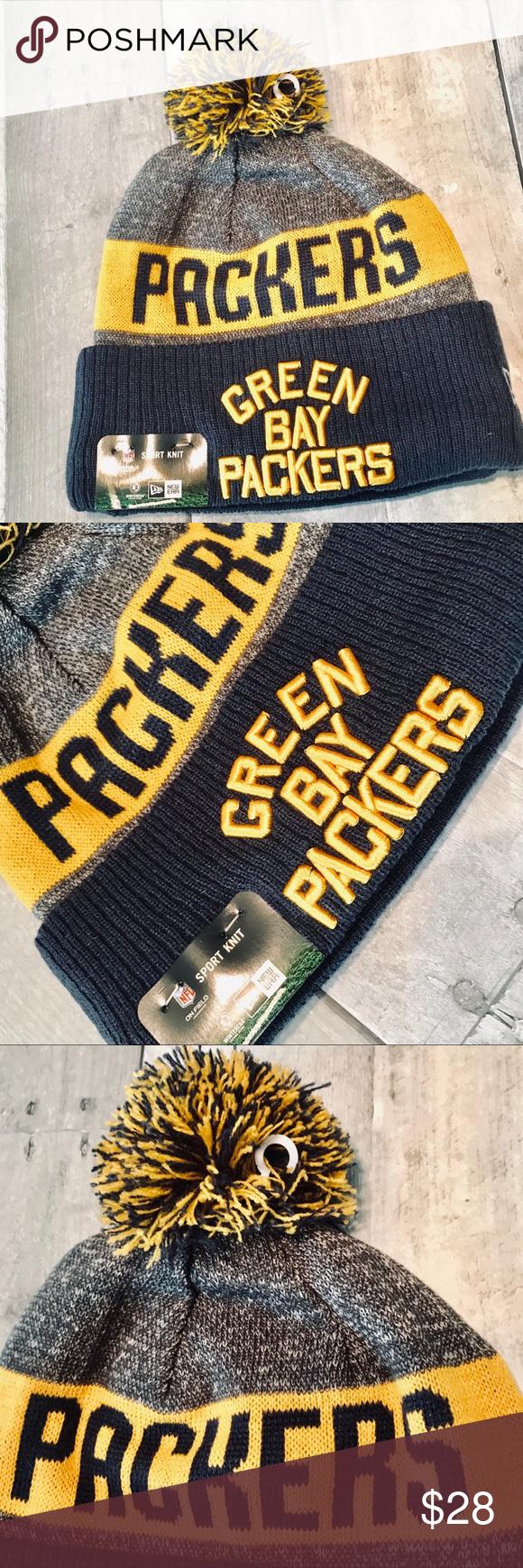 Nfl Greenbay Packers New Era Knit Winter Hat In 2020 Winter Knits Winter Hats New Era