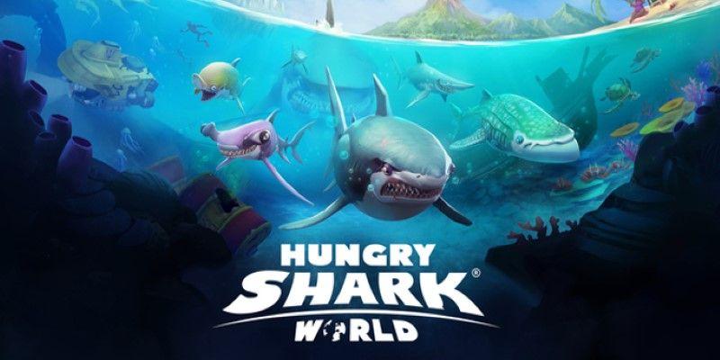 hungry shark world gaming beaver