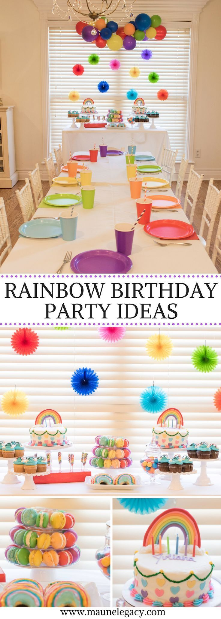 Colorful Rainbow Party Ideas
