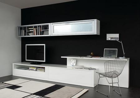 Programa aiko de kibuc salones con escritorio for Casa de muebles kibuc