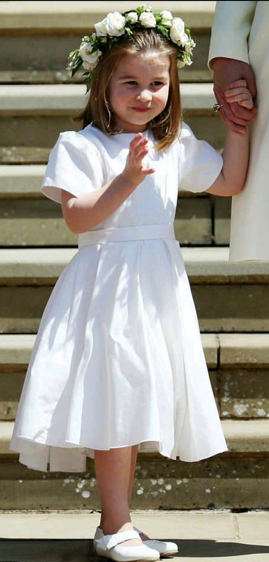 Flower girl little princess charlotte looked adorable