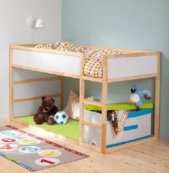 Chambre D Enfant Lit Reversible Kura Par Ikea Ikea Kura Lit Ikea Kura Et Lit Ikea