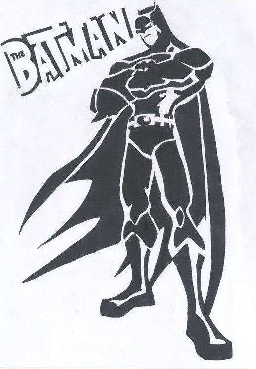 batman stencil by blackmetallicmuffin pp pinterest bats art