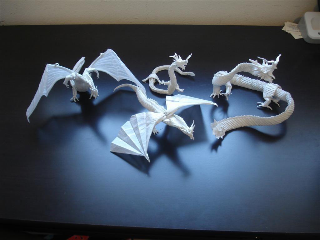Mega Complex Origami Dragons By Artist Galen On Deviantart Advanced Diagram