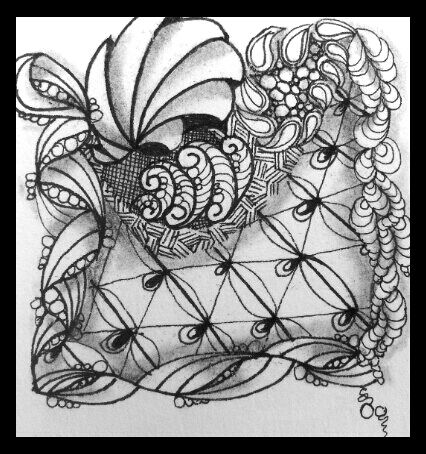 Tangled Up In Art: One Zentangle a Day - Day 20 and More