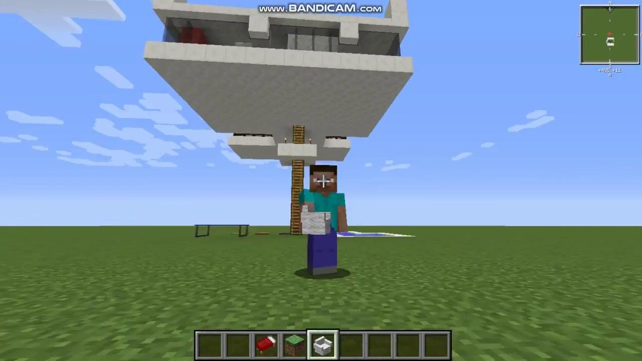Minecraft 1.8 Casa Moderna na Árvore com Piscina