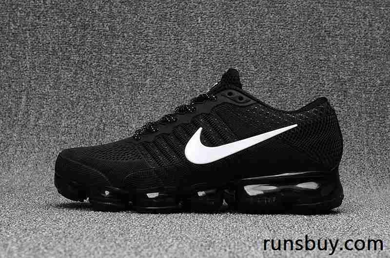size 40 016e7 4f49d New Coming Nike Air VaporMax 2018 KPU Black White Women Men (36-47)