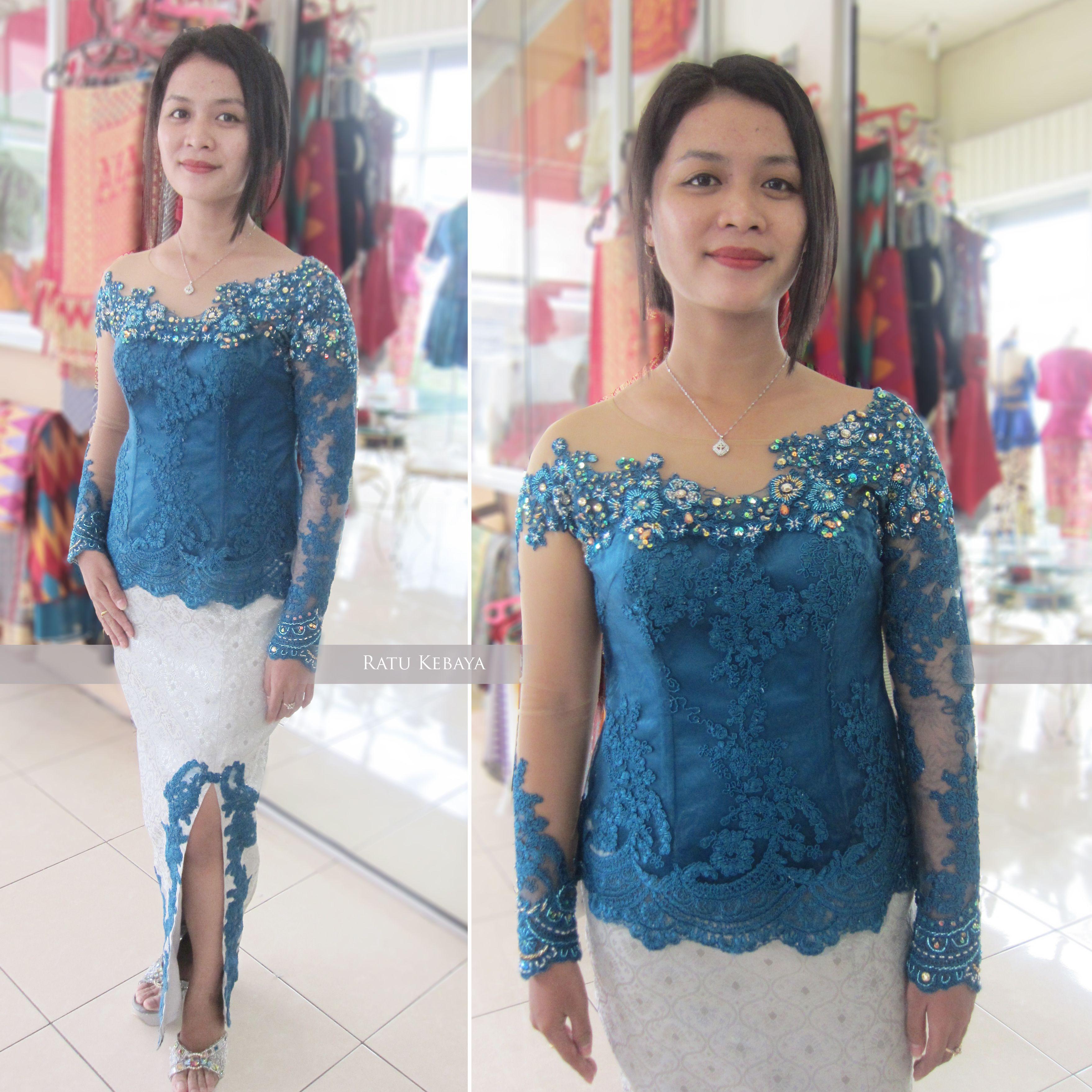 Kebaya wisuda (IG @ratukebaya_medan)  Pakaian wanita, Gaun