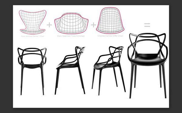chaise masters par philippe starck pour kartell | fauteuils ... - Chaises Philippe Starck Kartell