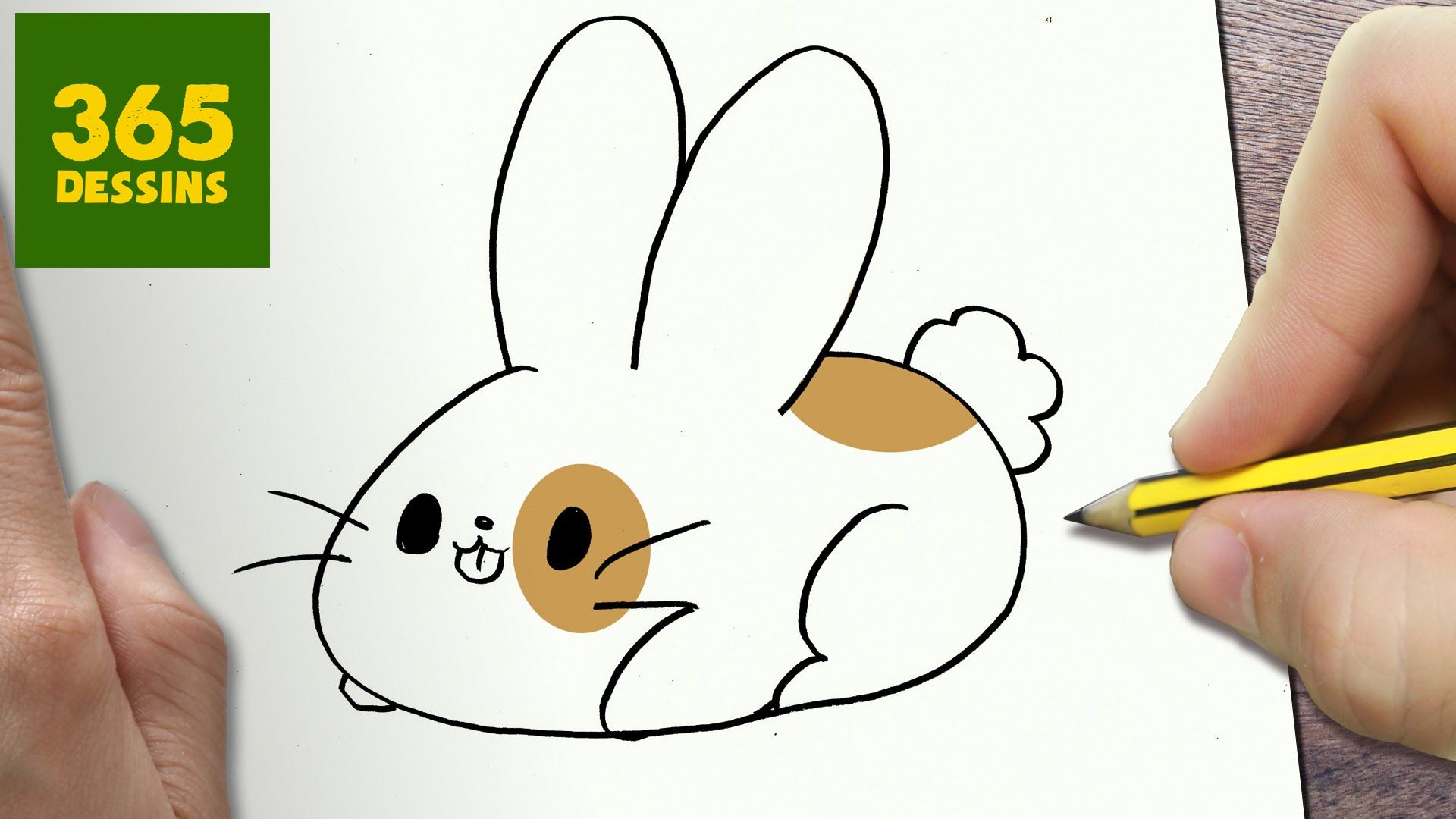 Comment Dessiner Lapin Kawaii Etape Par Etape Dessins Kawaii