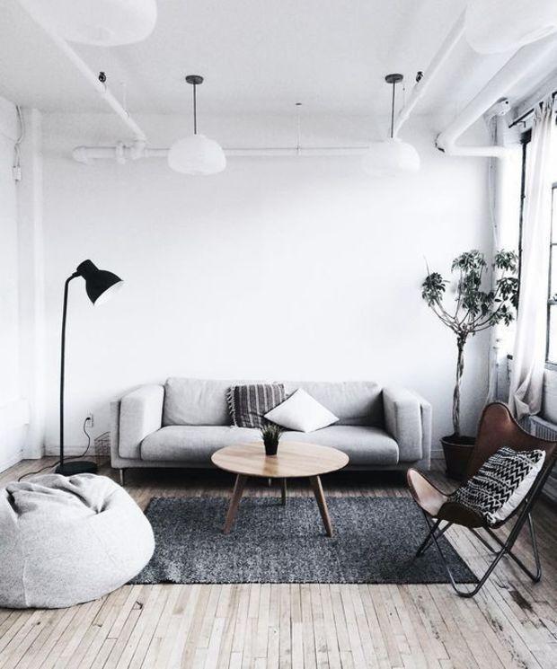 Minimal Interior Design Inspiration 82 Minimalist Living Room