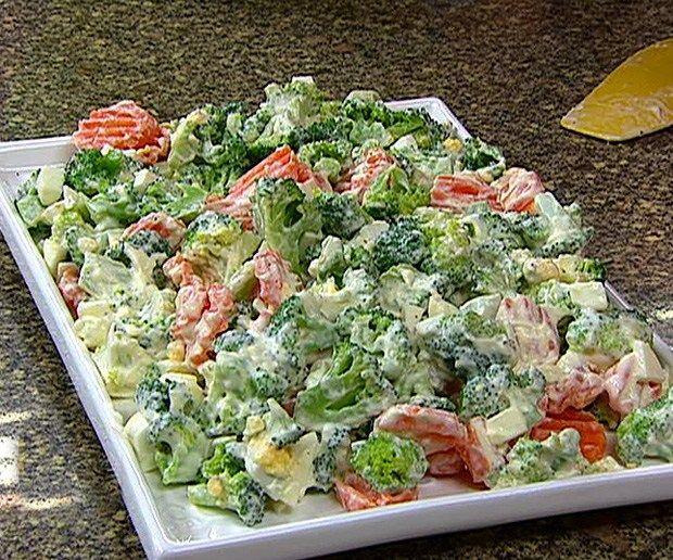 como preparar brocoli en ensalada