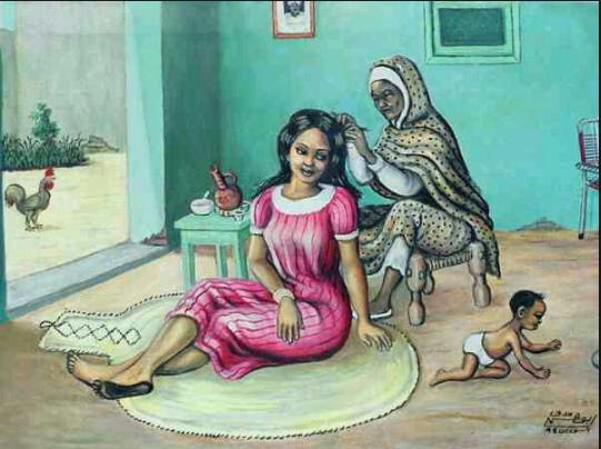 أفضل روايات الكاتب السوداني طارق اللبيب Art Village African History Facts Woman Painting