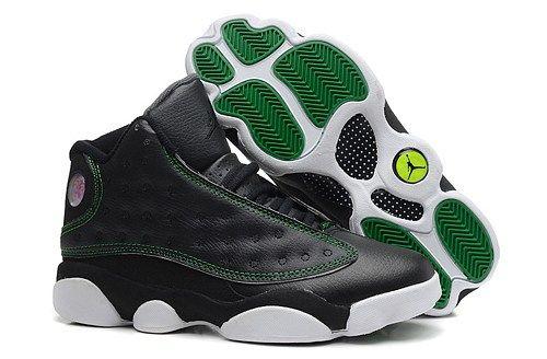 2014 new 310004 132 Air Jordan 13 retro suede black white mens shoes