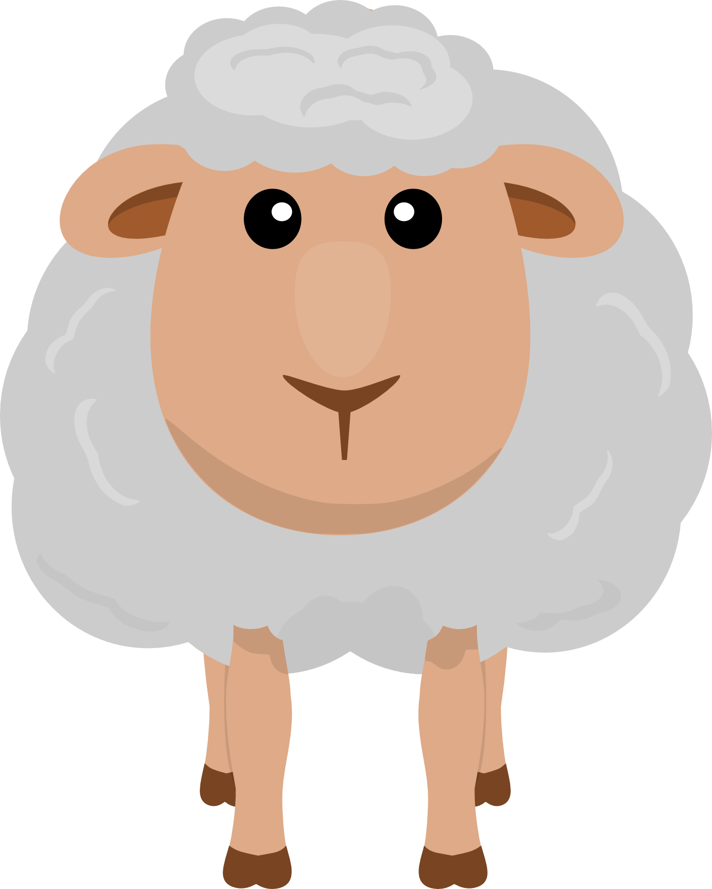 On The Farm ClipArt Art, Clip art, Sheep