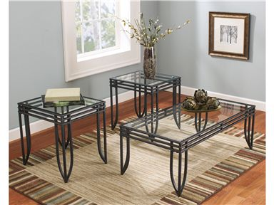 Shop For Signature Design Occasional Table Set 3 Cn And Other Living Room Tables At Walker Furniture Living