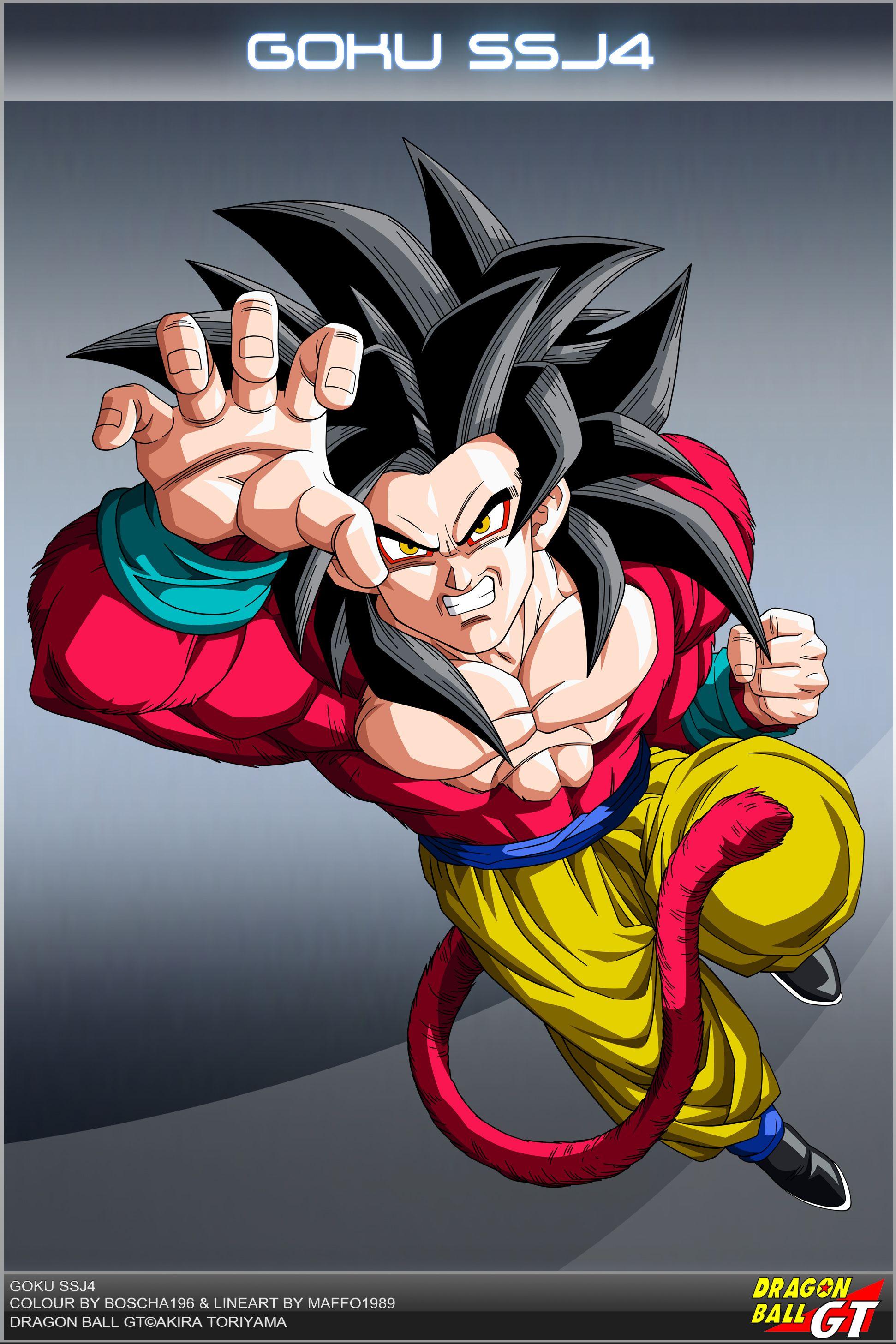 Dragon Ball Gt Goku Ssj4 Vs Sa17 By Dbcproject On Deviantart Dragon Ball Super Goku Dragon Ball Anime Dragon Ball