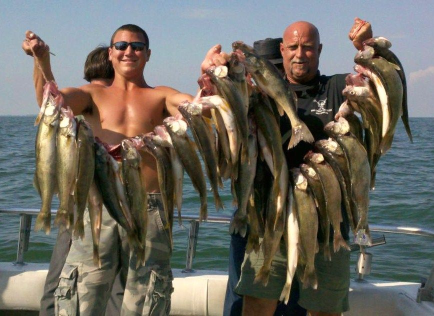 Lake erie fishing charters walleye fishing charters port for Lake erie fish