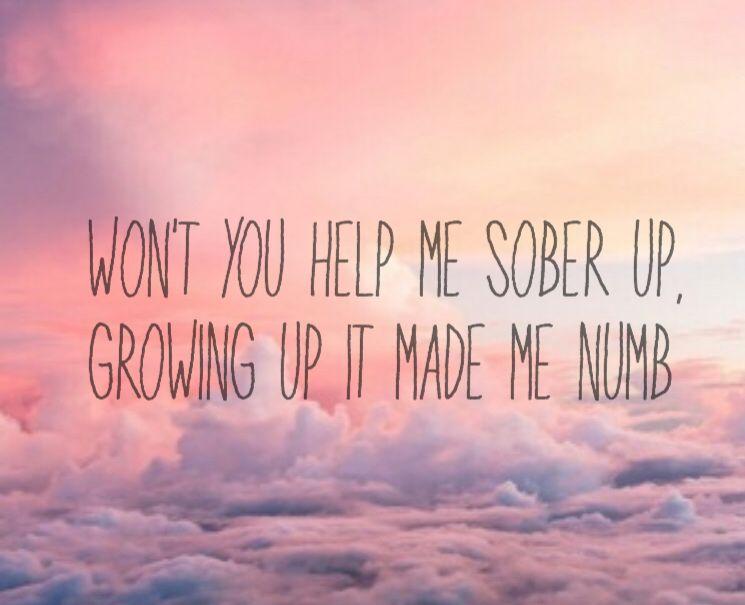Sober up ajr lyrics