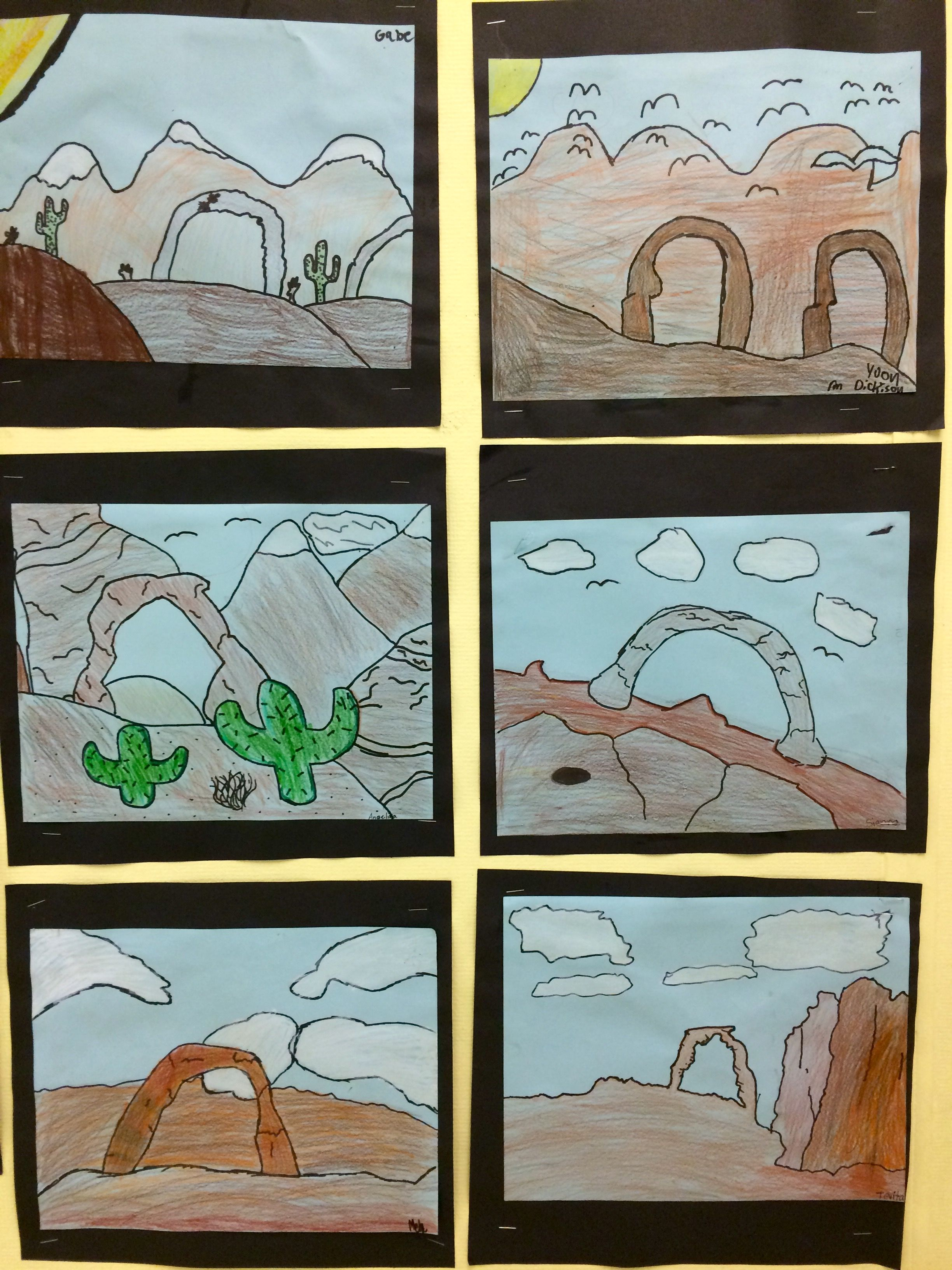 5th Grade Arches Of Utah