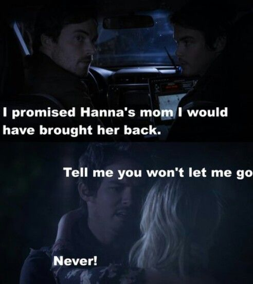 "#PLL 6x01 ""Game On Charles"" - Hanna and Caleb"
