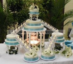 Wedding Cakes With Fountains And Bridges Cakes Pinterest