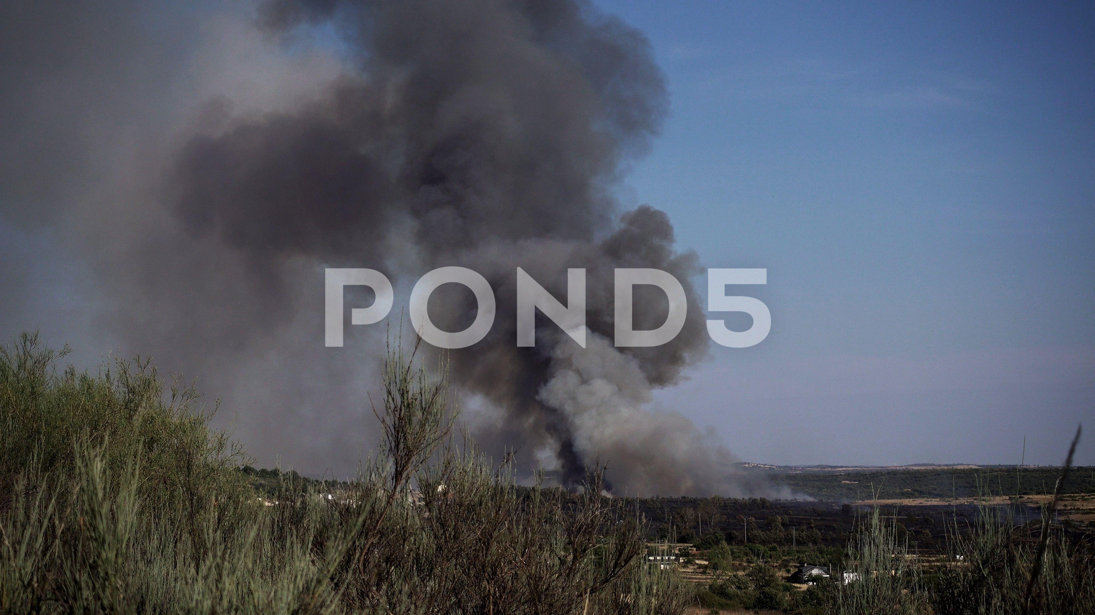 Fire with dark smoke Stock Footage,#dark#Fire#smoke#Footage | Debut