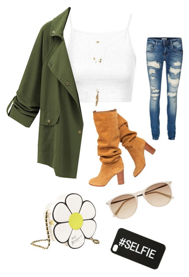 """Untitled #1"" by hershyeststylist ❤ liked on Polyvore featuring Topshop, Vero Moda, Chanel, Charlotte Russe, Betsey Johnson and Witchery"