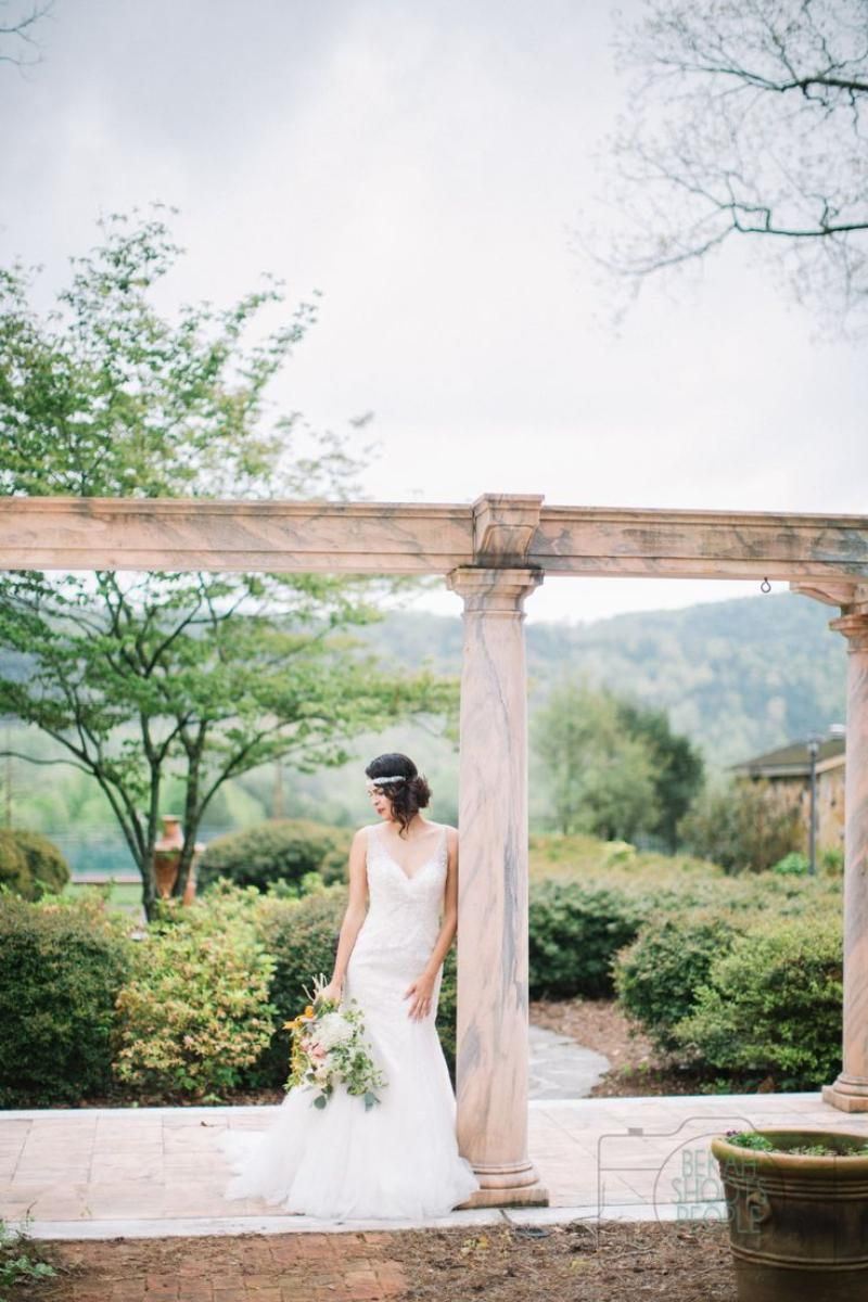 The Tate House Marble Mansion Southern wedding
