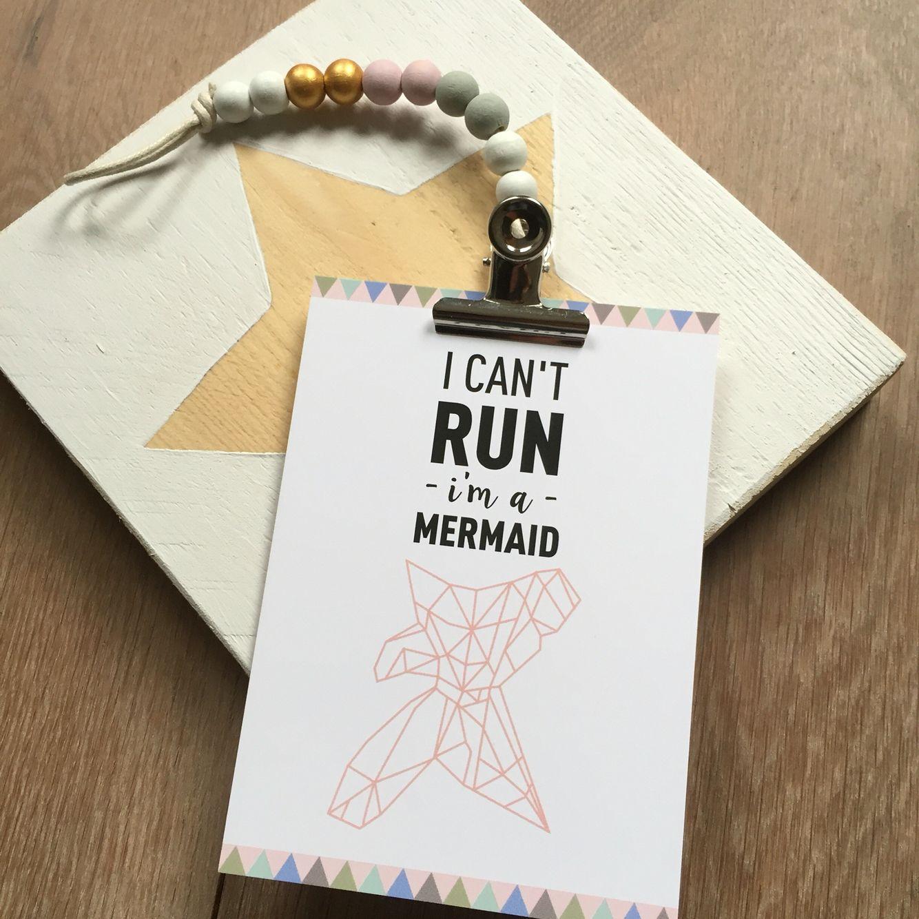 Ansichtkaart A6 Mermaid #kaart #ansichtkaart #mermaid www ...
