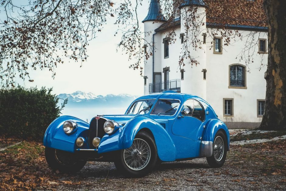 Bugatti 57 Atlantic Modifiee Erik Koux Bugatti 57 Bugatti