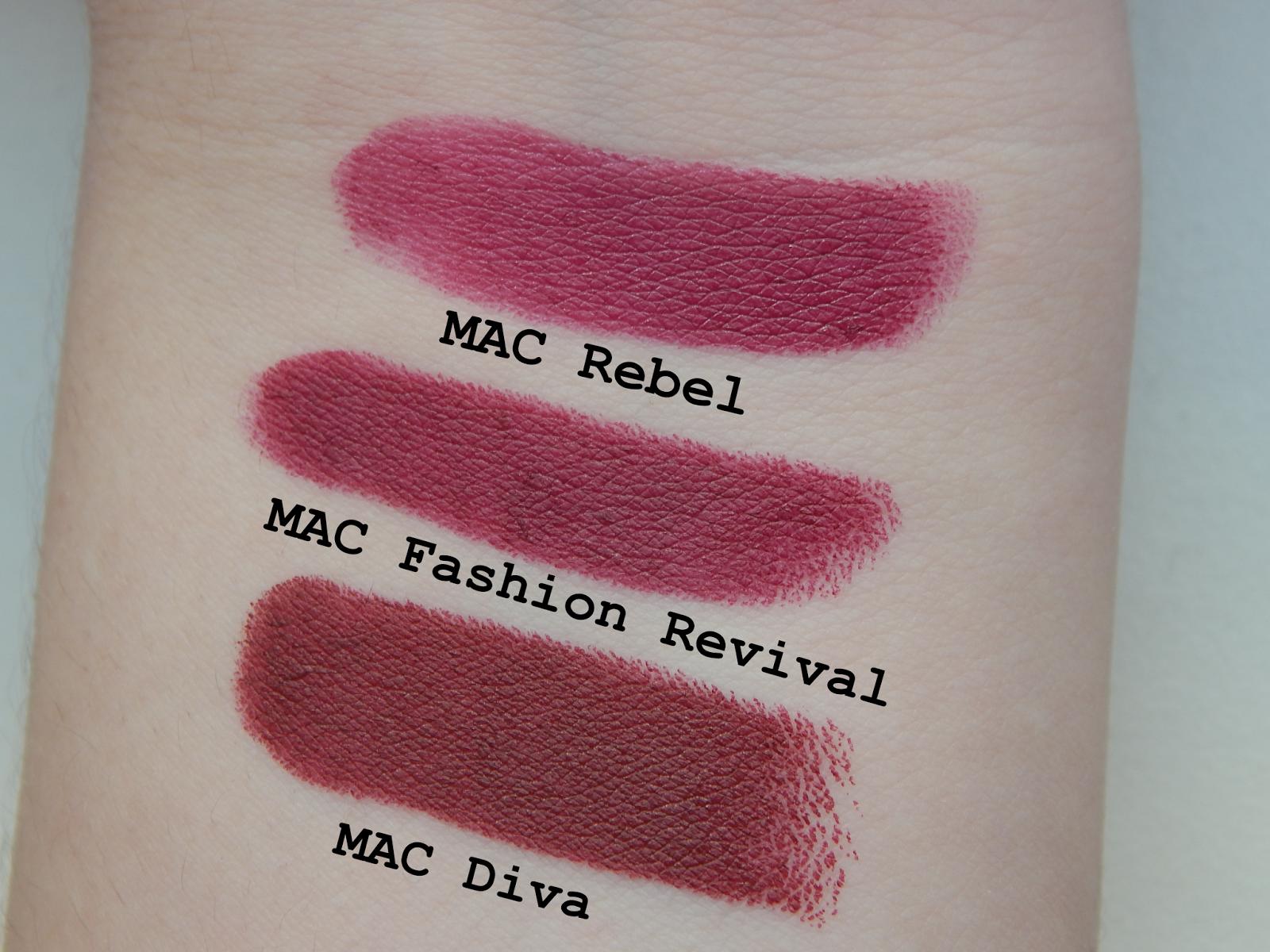 TanjaWhatsername: Review: MAC Fashion Revival Lipstick (LE) | hair ...