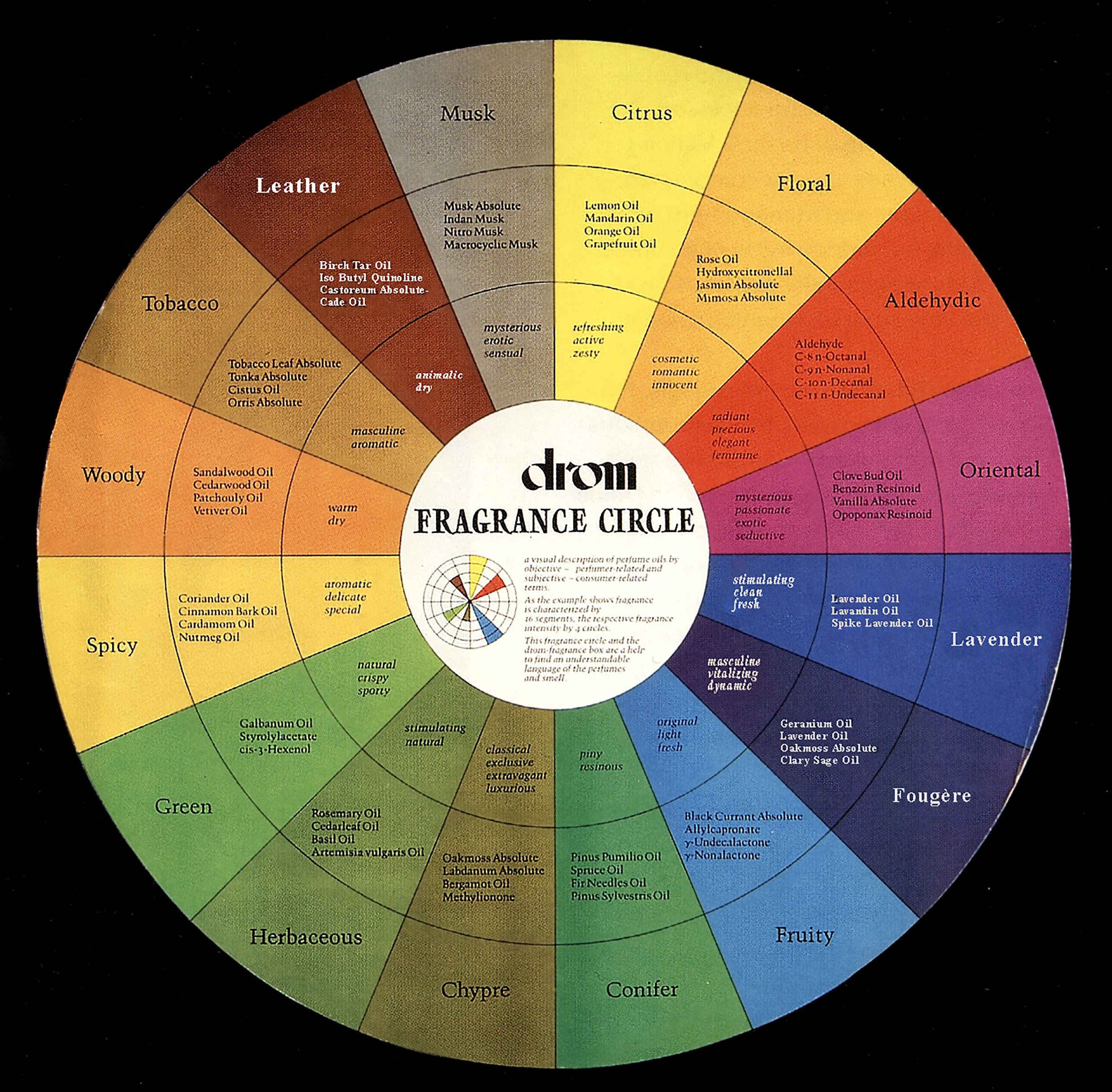 Scent Mapping: Diagrams and Aroma Wheels | Beauty