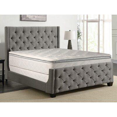Apollonia 10 Medium Pillow Top Mattress And Box Spring Mattress