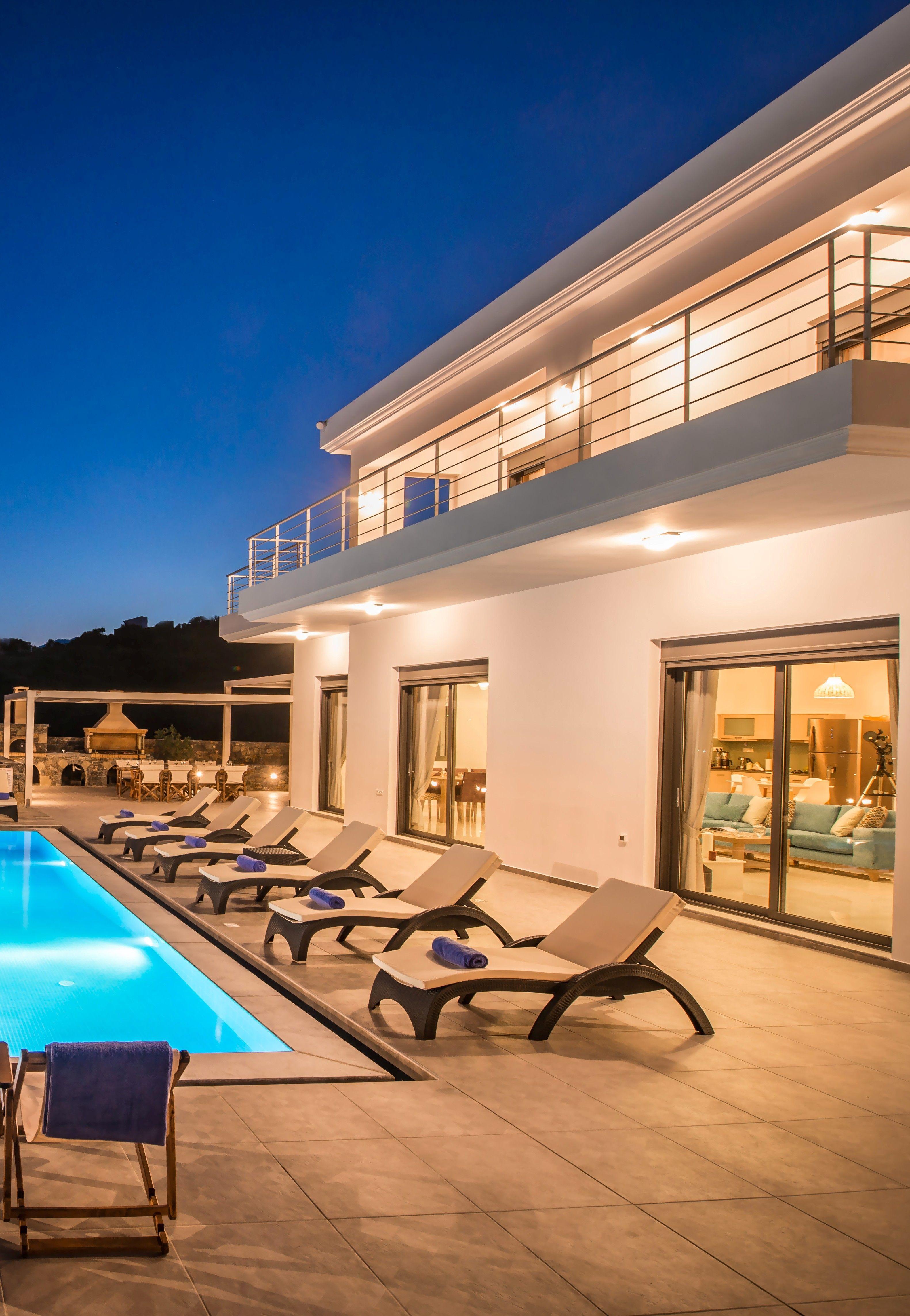 Villa Bellelen | 5 Bedroom Luxury Villa Rental In Crete | Vacation Rentals  In Crete |