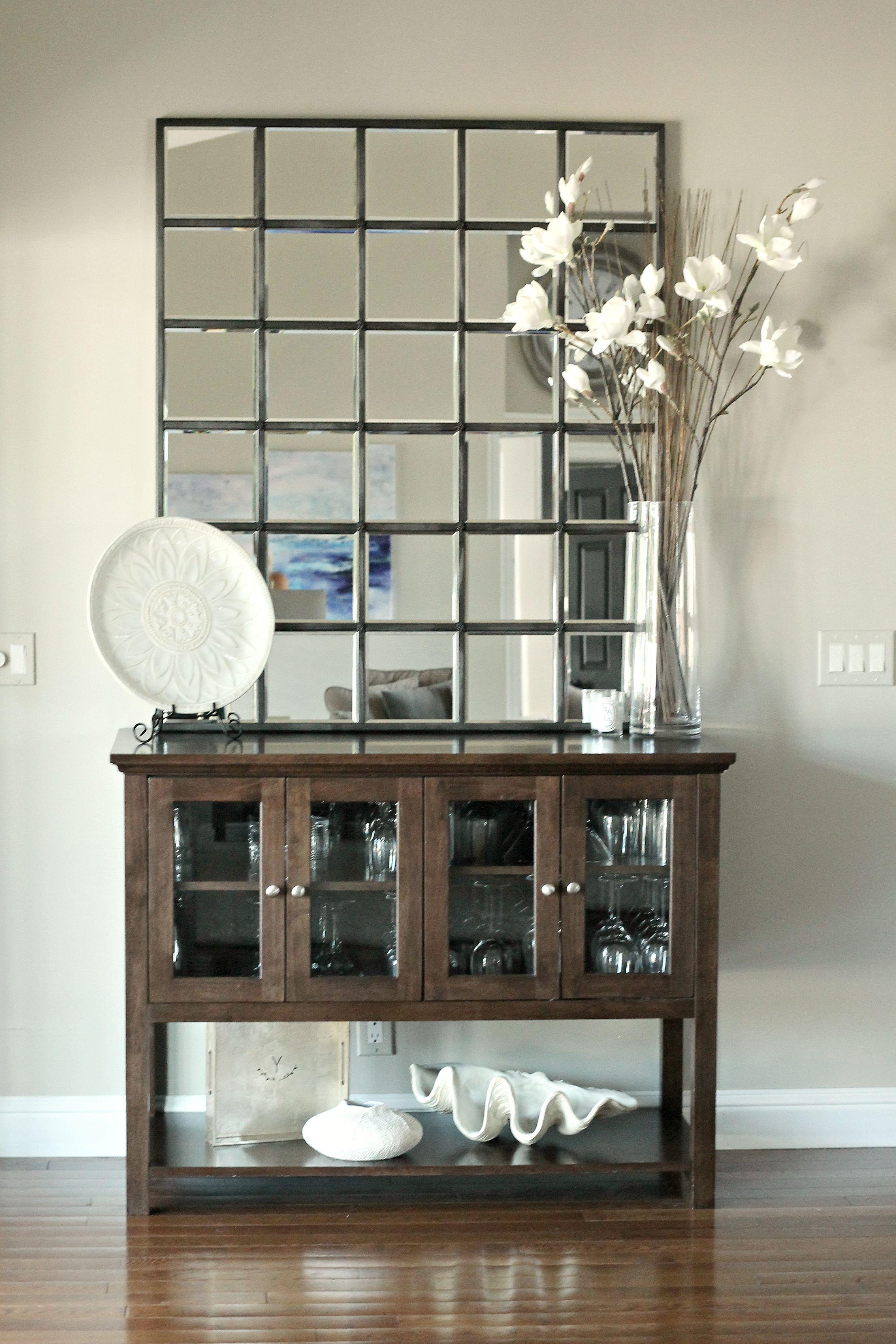 Eagan Multipanel Large Mirror Bronze Potterybarn Mirror