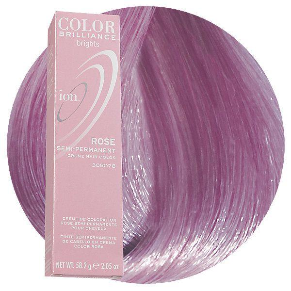 Rose Semi Permanent Hair Color Ion Color Brilliance Semi