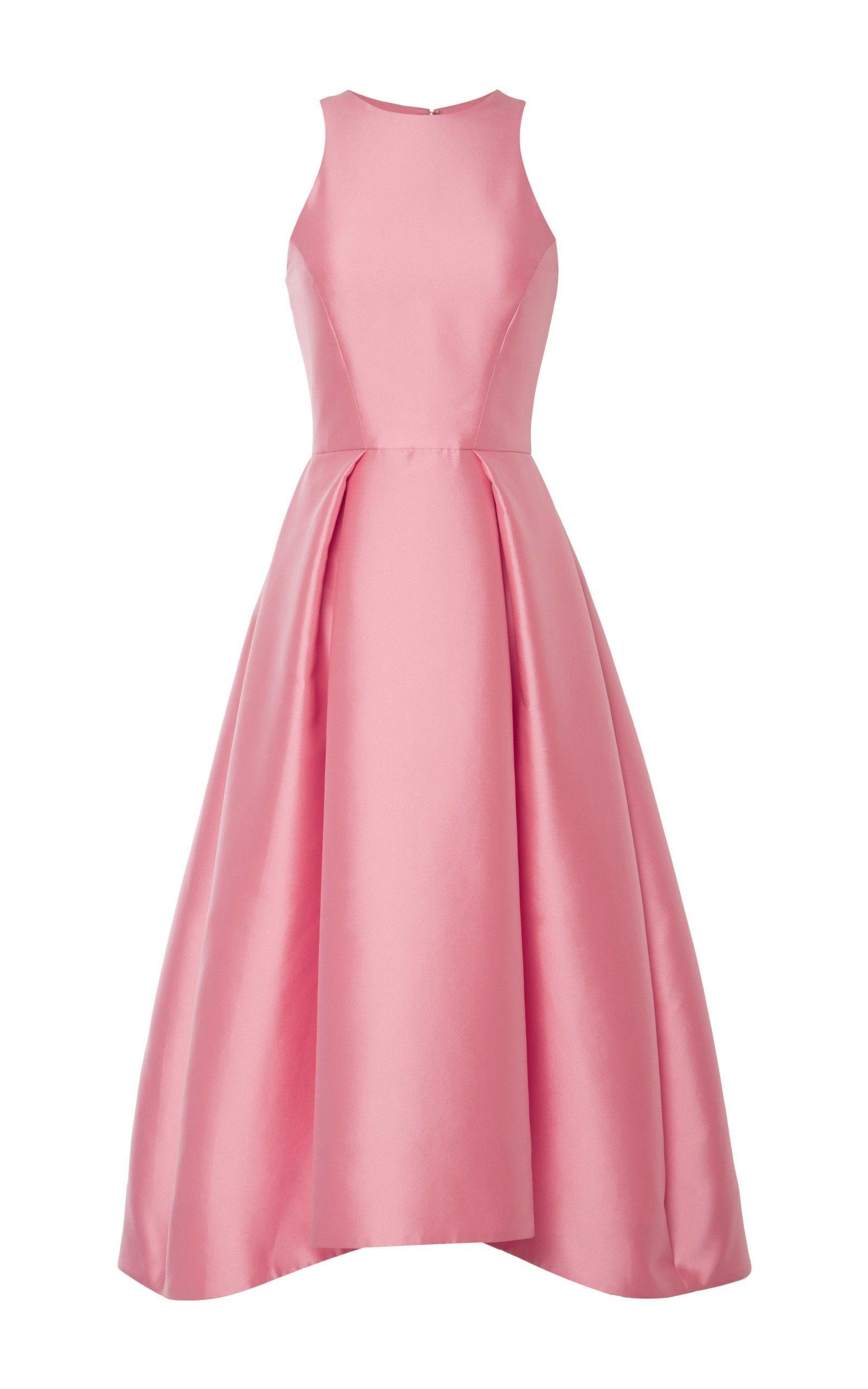 Silk Mikado Structured Midi Dress Fashion Gowns Nice Dresses Elegant Dresses [ 2560 x 1600 Pixel ]
