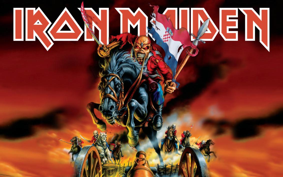 Iron Maiden Croatia Ii By Croatian Crusader Iron Maiden Posters Iron Maiden Iron Maiden The Trooper