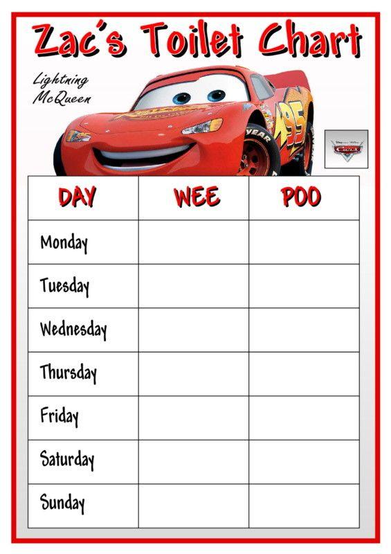 free printable potty training charts for boys