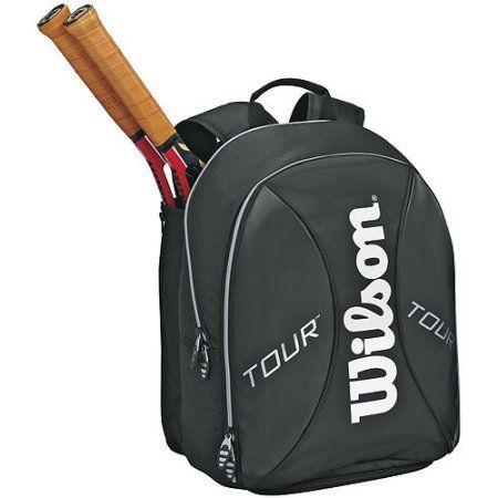 Wilson Tour Black Small Backpack