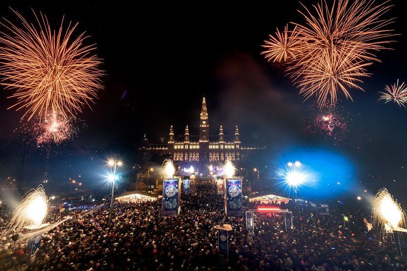 Silvester Wien Neujahrsbilder Frohes Neues Jahr Silvester