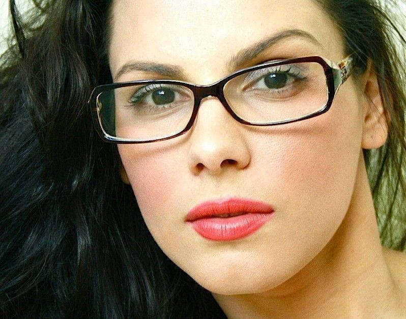 993a6479c7 Rectangular Rectangle Eyeglasses Clear Lenses Women Glasses Crystals Stones