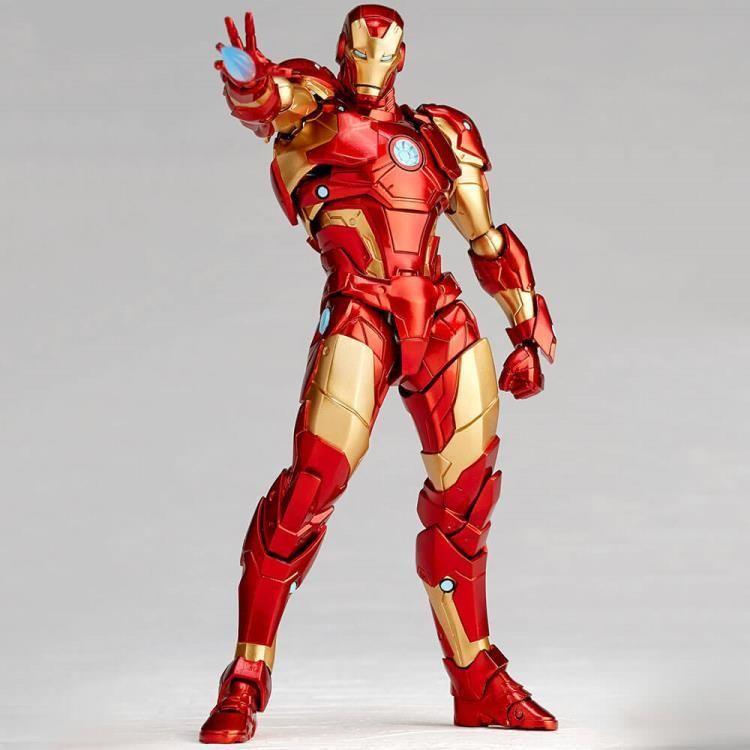 Kaiyodo Amazing Yamaguchi Revoltech013 Iron Man Bleeding Edge Armor Iron Man Yamaguchi Iron Man Bleeding Edge