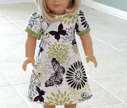 44 Free Doll Clothes Patterns: All Sizes | Dolls, Clothes and Patterns